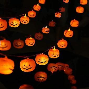 Halloween string lichten led pompoen vakantie lichten outdoor decor