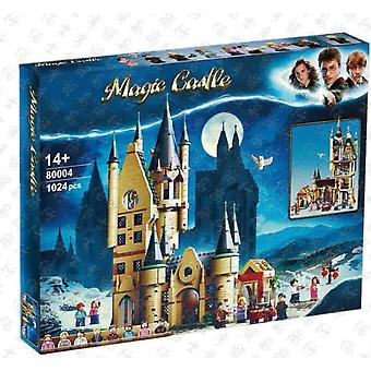 Compatible con 80004 Harry Potter Series Observatory Building Scene Assembled Building Block Educational Toy Model