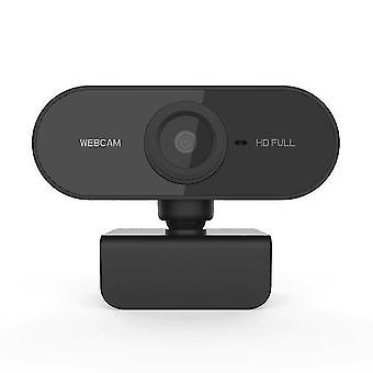 Web-kamera Full HD -verkkokamera tietokonevideokokousluokan verkkokameralle mikrofonilla