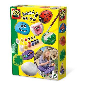 Kit de pierres de peinture pour enfants