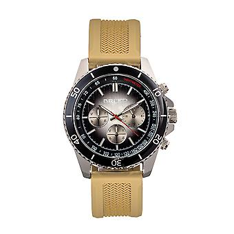 Breed Tempo Chronograph Strap Watch - Olive