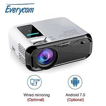 E500 Mini Projektori LED 720P LCD Android