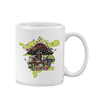 Psychedelic Mushrooms Mug -SPIdeals Designs