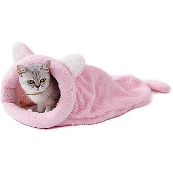Four Seasons General Semi-closed Sleeping Bag For Pets And Dogs (pink)