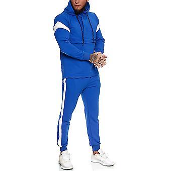 Heren joggingpak Blauw - 1090