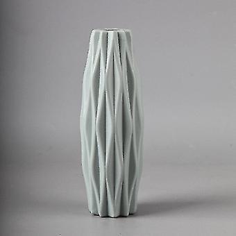 Vases nordic style geometric vase blue