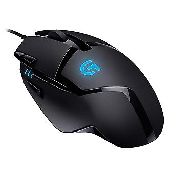 Mice trackballs g402 gaming mouse hyperion fury with 8 programmable buttons - black