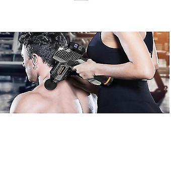 6heads Lcd Elektrische Massagepistole