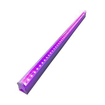 T5led Ultraviolet Tube Light 395nm Uv Led Tube Lamp Blacklight Lamp With Us Plug For Ktv Bar Party (0.3m/6w)