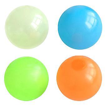 4buc TPR luminos Squishy Ball Toys Copii Supt Ball Jucărie