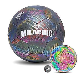 Größe 5 Fußball Ball leuchtende Fußball Nachtlicht Männer Frauen glühenden Fußball