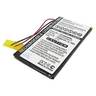 Battery for Archos AV402E Gmini 400 402 402CC PocketDISH ARCHOSBATT MP3 1400mAh