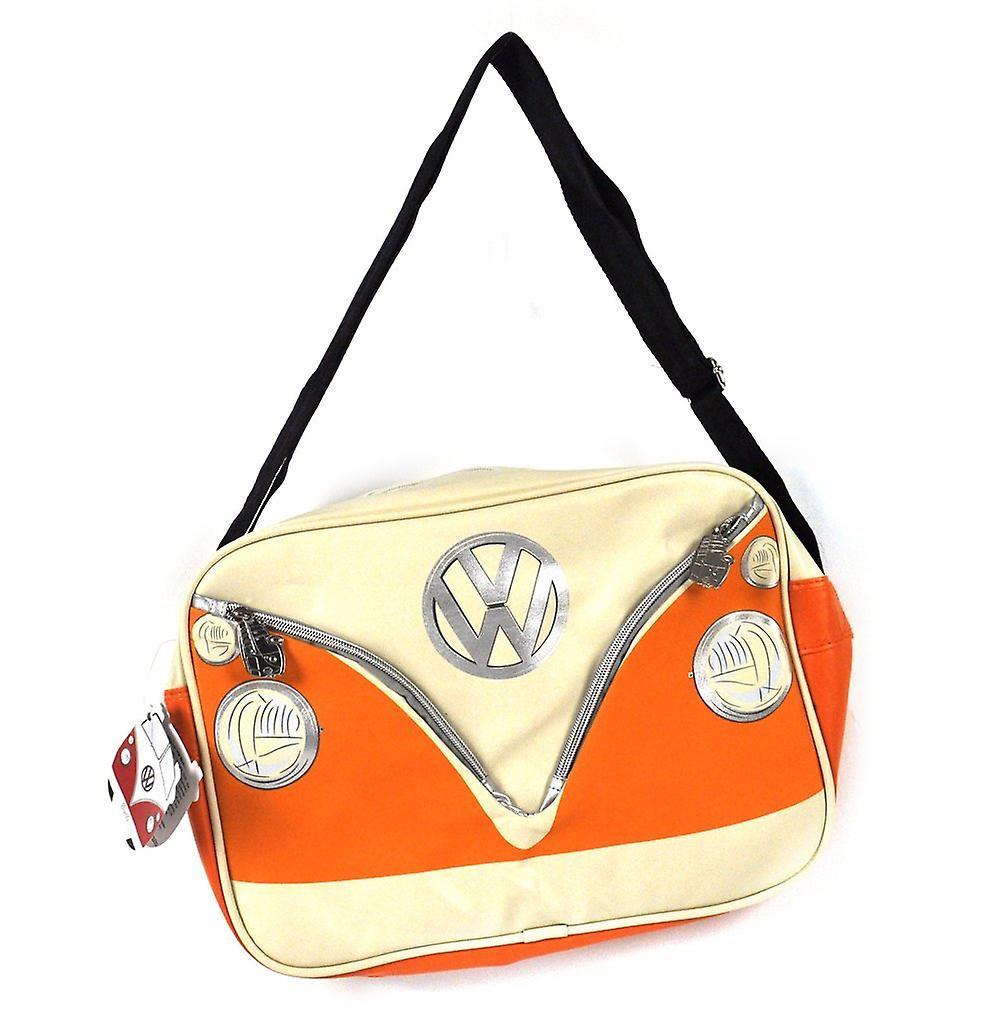 Official VW Camper Van Messenger Shoulder Bag - Orange
