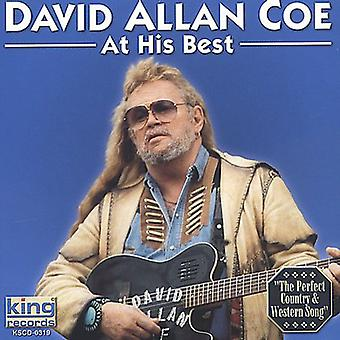 David Allan Coe - på sitt beste [DVD] USA import