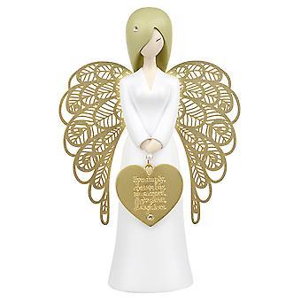 Você é um anjo sonho rir amor Figurine