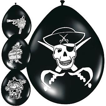 Pirate Party balony balon Kids Party 8 szt urodziny dla dzieci
