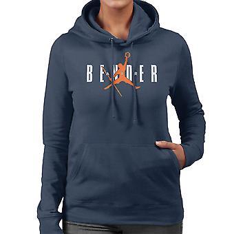 Just Bend It Avatar The Last Airbender Women's Hooded Sweatshirt