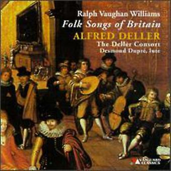 R. Vaughan Williams - Ralph Vaughan Williams: Folk Songs of Britain [CD] USA import