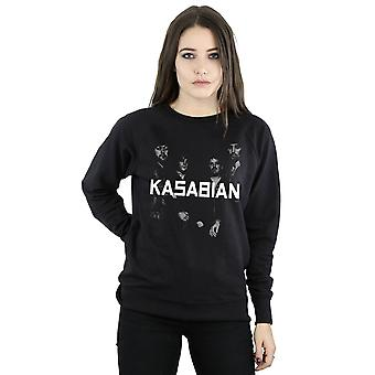Kasabian Women's Groupie Photo Sweatshirt
