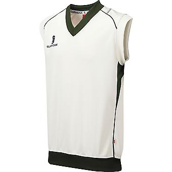 Surridge jongens Fleece gevoerde mouwloos trui / sport / Cricket