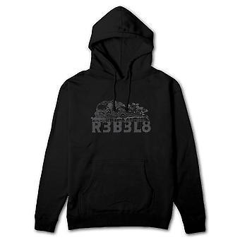 Rebel8 sacrifício Pullover Hoodie preto