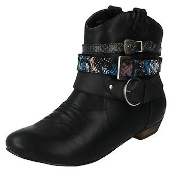 Dames Coco Ankle Boots Style - L8628