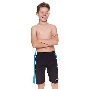 Zoggs ジュニア男子ムリワイ 6-15 歳の子供水泳パンツ ブラック/ブルー