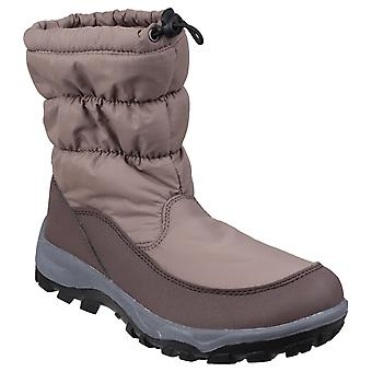 Cotswold Womens Polar Waterproof Snow Boot Brown