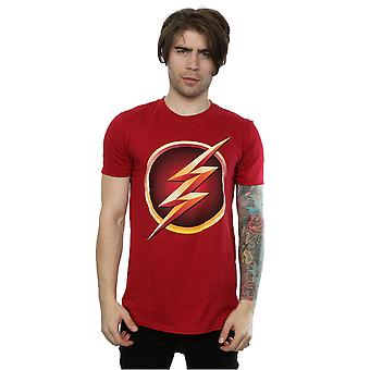 DC Comics Men's The Flash Emblem T-Shirt