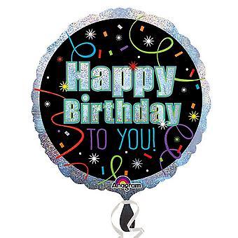 Amscan forduló boldog születésnapot to you fólia Balloon