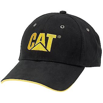 CAT Workwear Mens Workwear Embroided Trademark Microsuede Cushioned Work Cap
