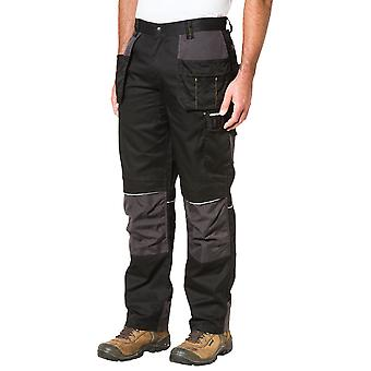 Caterpillar Mens CAT Skilled Ops Polycotton Knee Pad Work Trousers