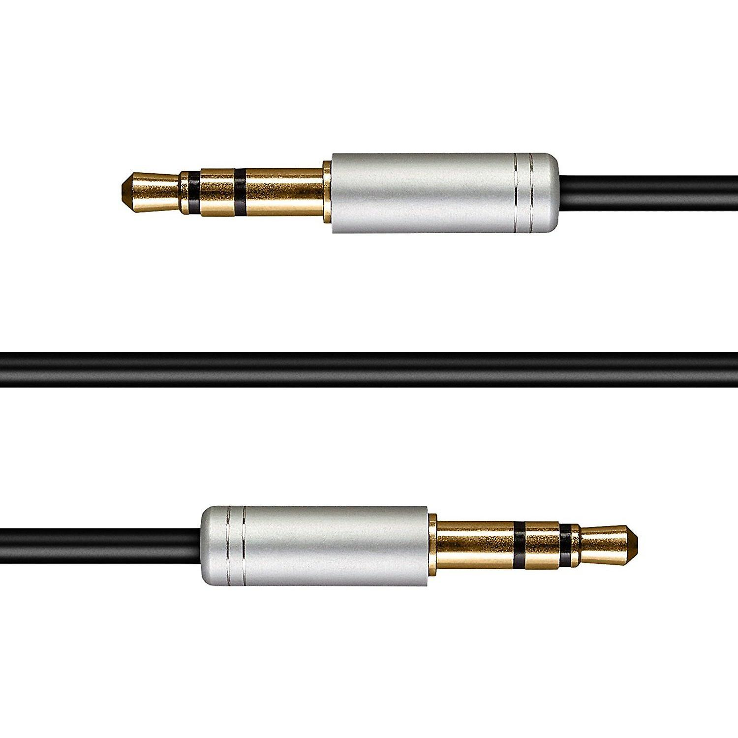 Audio Cable 1.5 Meters Premium Auxiliary Aux Audio Cable Cord