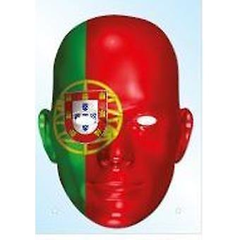 Portugalin lippu naamio