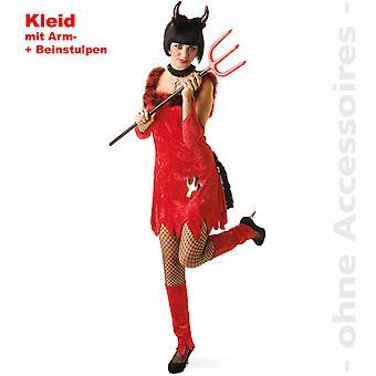 Paholaisen mekko naisten Devil's Costume Satan puku Halloween