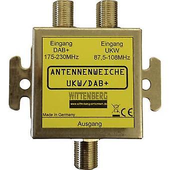 Wittenberg Antennen UKW & DAB + TV signal splitter FM, DAB +