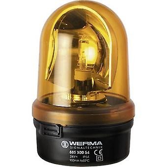 Werma Signaltechnik Emergency light 885.300.75 885.300.75 Yellow Emergency light 24 V AC, 24 V DC