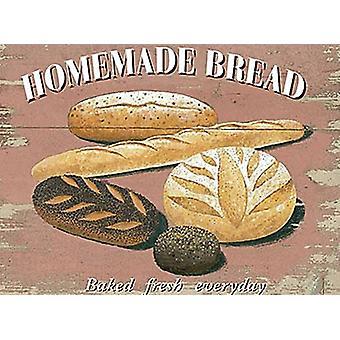 Домашний хлеб металла подписать 200 X 150 мм
