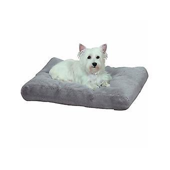 Sonno dell'animale domestico Thermapet Burrow Bed grigio medio