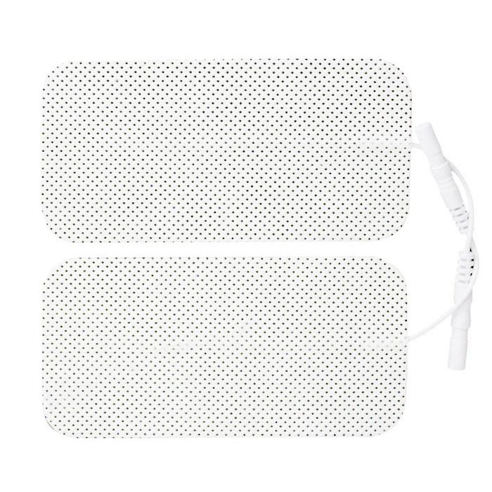 24 (6 Packs) Self-Adhesive TENS Electrodes (5cm x 10cm) Plus FREE Chart