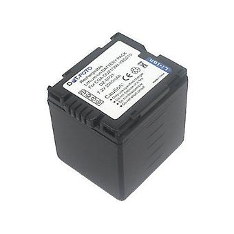 Hitachi DZ-BP21 Replacement Battery from Dot.Foto - 7.2v / 2040mAh - 2 Year Warranty [See Description for Compatibility]