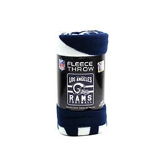 Severozápadního týmu Los Angeles Rams NFL hod fleece