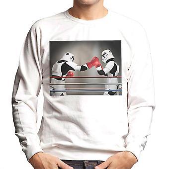 Original Stormtrooper Boxing Match Men's Sweatshirt