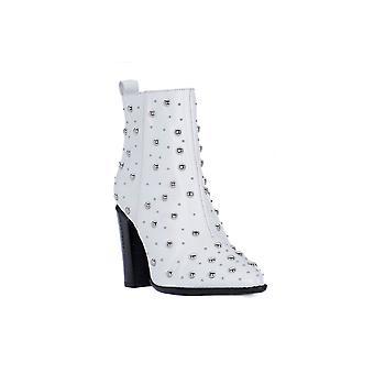 Bronx amerivanax white booties