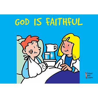 God Is Faithful - Colour and Learn by MacKenzie Carine - Carine Macken