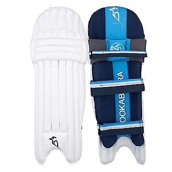 Kookaburra 2019 Rampage 4.0 Cricket Wimper Pads Leg Guards weiss/blau