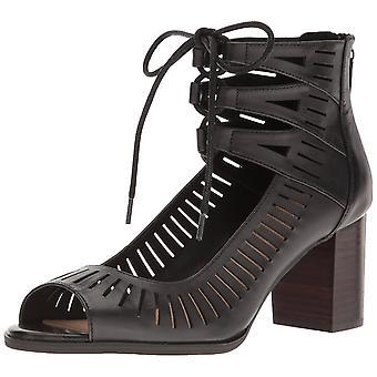 Bella Vita Womens Keaton Sandalen aus Leder Peep Toe lässige Ankle Strap