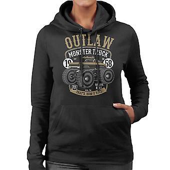 Outlaw Monster Truck Naisten huppari