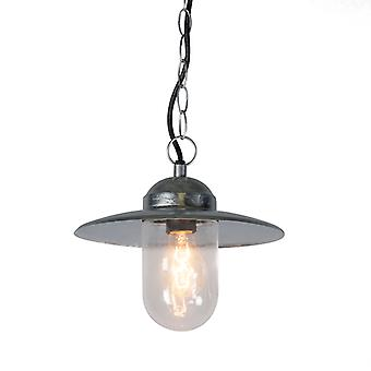 QAZQA Industrial hanging lamp zinc IP44 - Munich