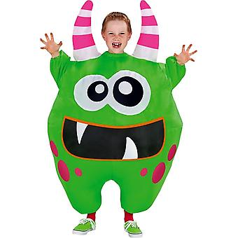 Green Inflatable Scareblown Child Costume